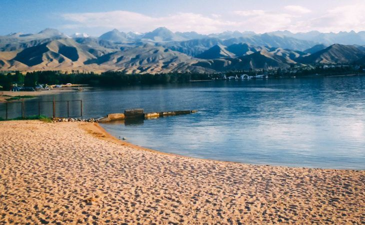 Issyk-Kul Lake | Kyrgyzstan | second largest alpine lake in the world, Tian Shan Mountains