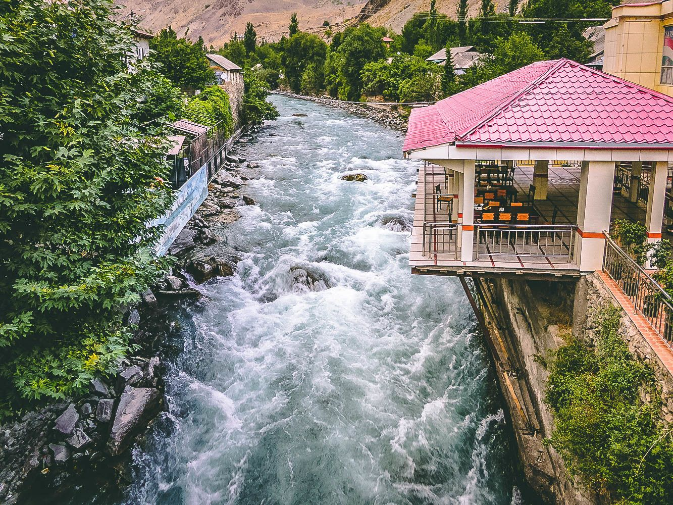 Pamir Highway Tour, Khalai Khum Tajikistan