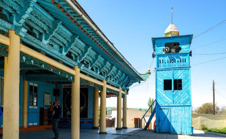 Karakol mosque in Kyrgyzstan