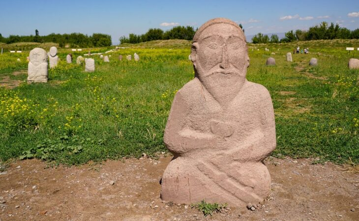 Balbal in Kyrgyzstan