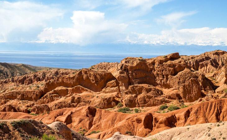 Kyrgyzstan canyons