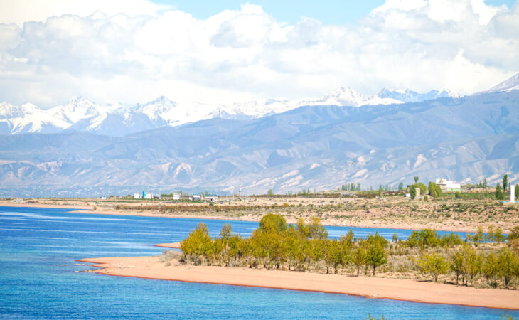 Kyrgyzstan Issyk Kul lake