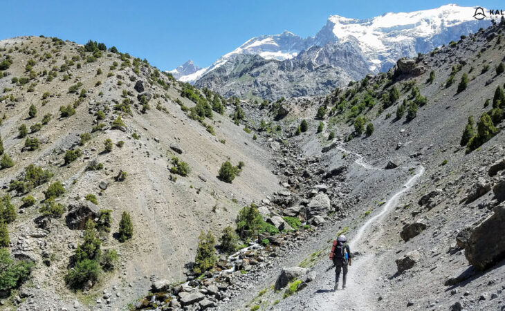 Mountains for trekking in Tajikistan