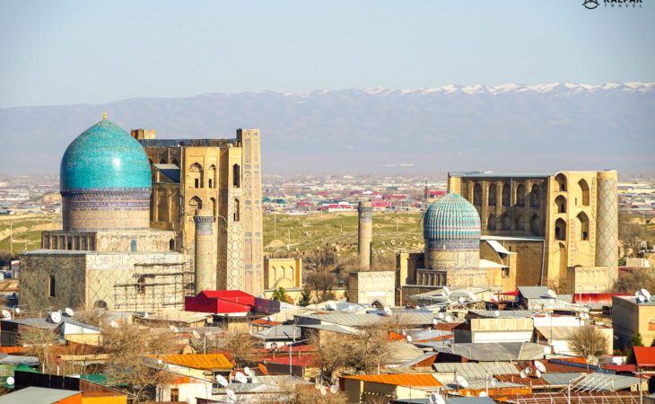 Silk Road cities in Central Asia