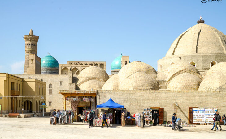Silk road heritage in architecture