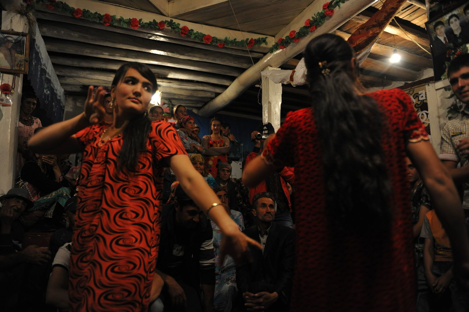 Central Asia dance, music