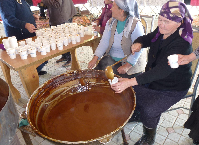 Central Asia Festival, Nowruz meal