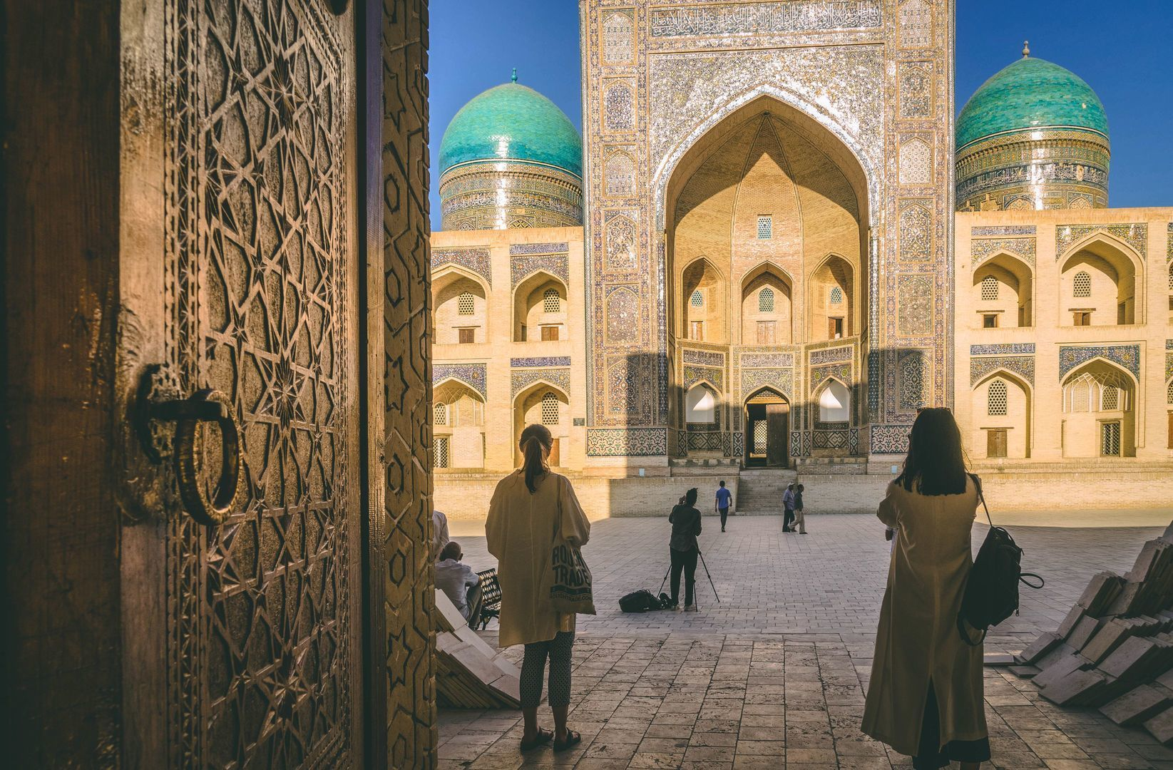 Uzbekistan Landmarks, Silk Road