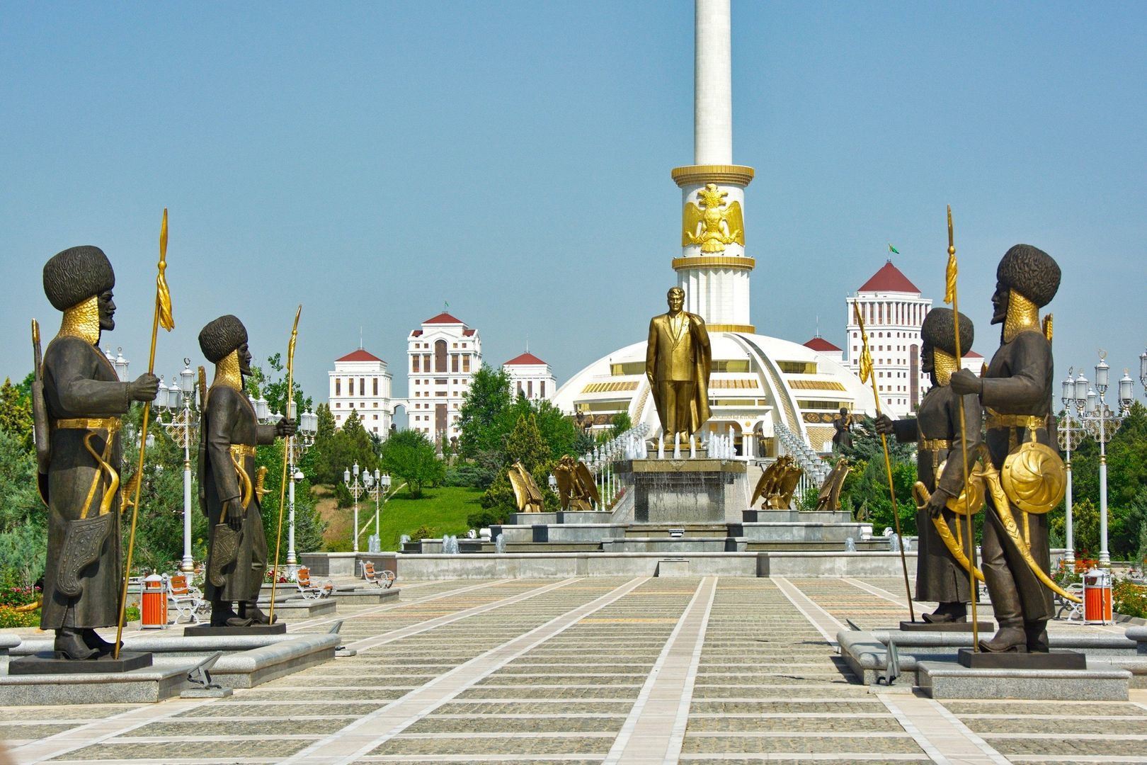 Ashgabat the capital of Turkmenistan