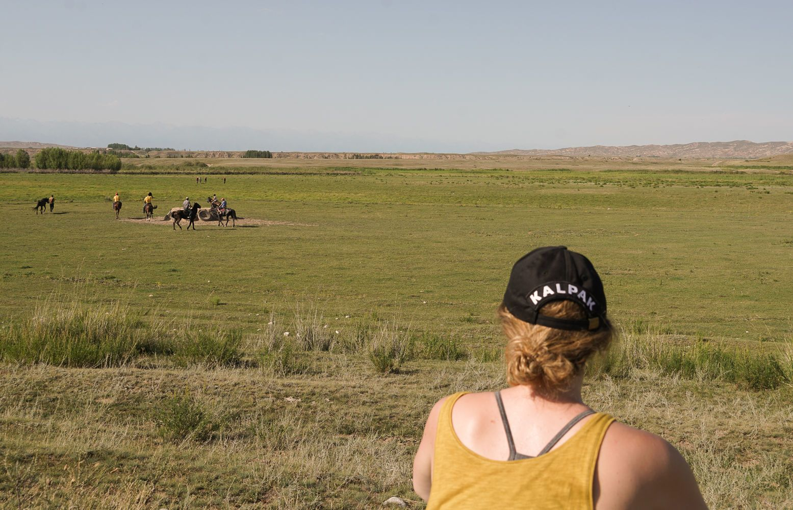 Kalpak Travel & horses in Central Asia