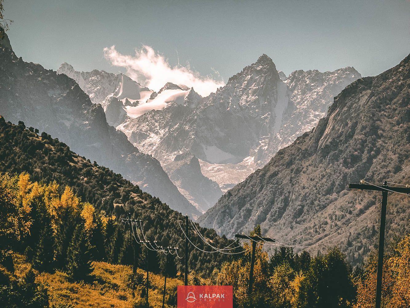 Central Asia, National Park Ala Archa near Bishkek