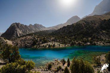 Alauddin lake Tajikistan tour