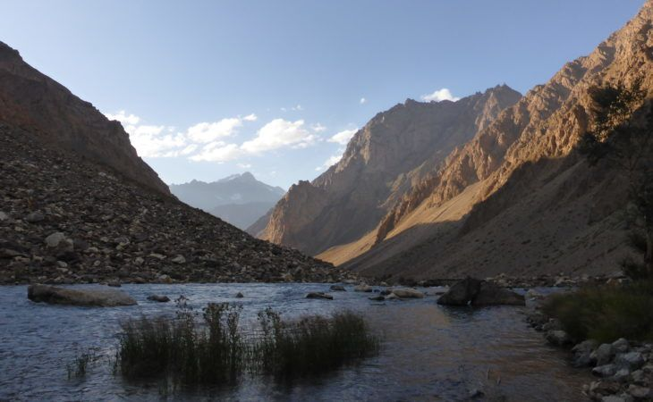 Pamir Highway Tour, mountains during hiking tour