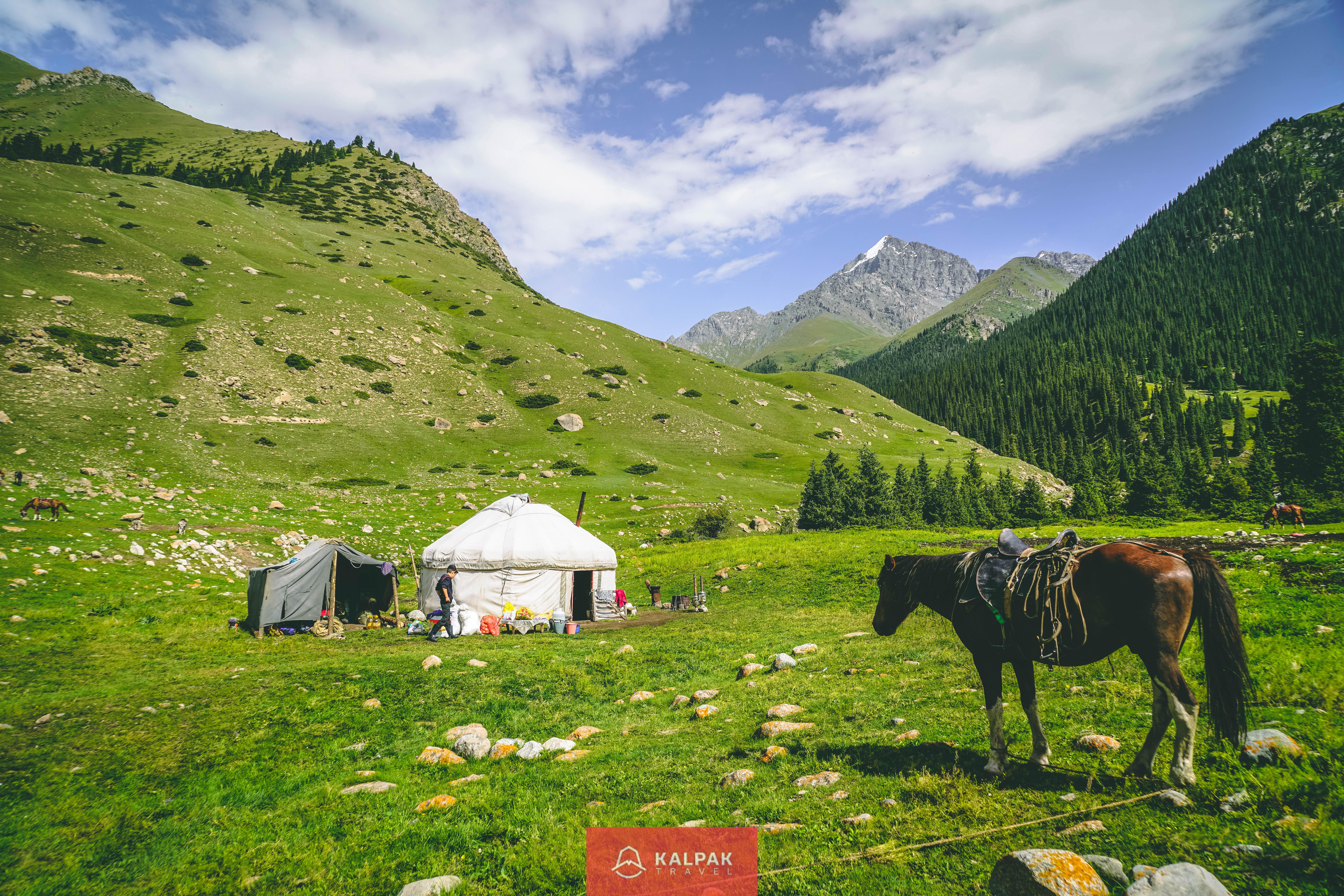 Horse Riding in Kyrgyzstan