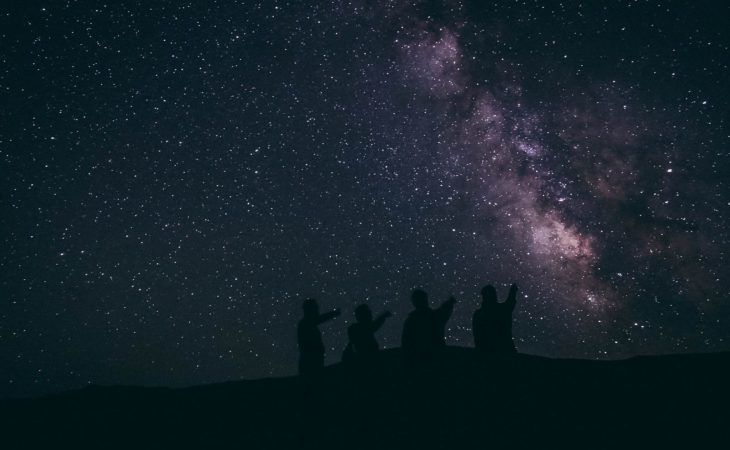 Best of Central Asia Tour - Night Sky at Song Kul Lake in Kyrgyzstan