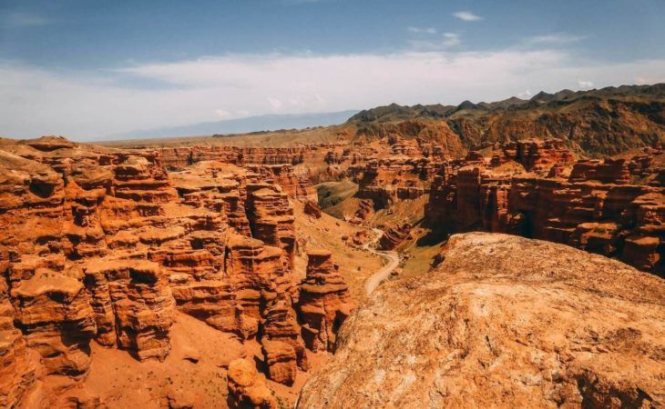 Best of Central Asia Tour - Charyn Canyon in Almaty Region of Kazakhstan