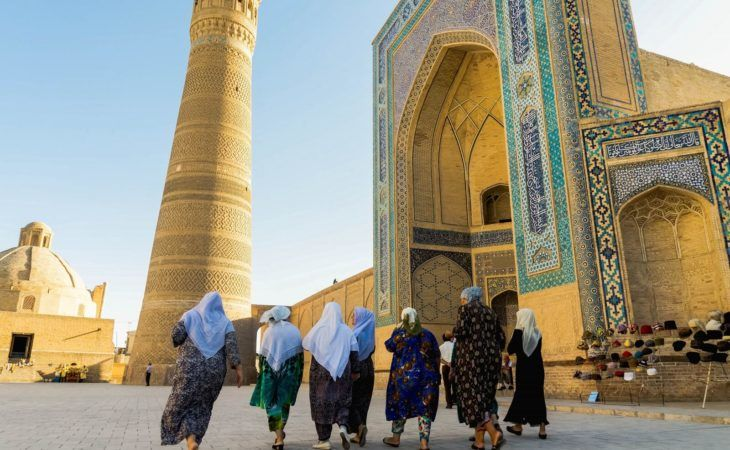 Central Asia cities Tour