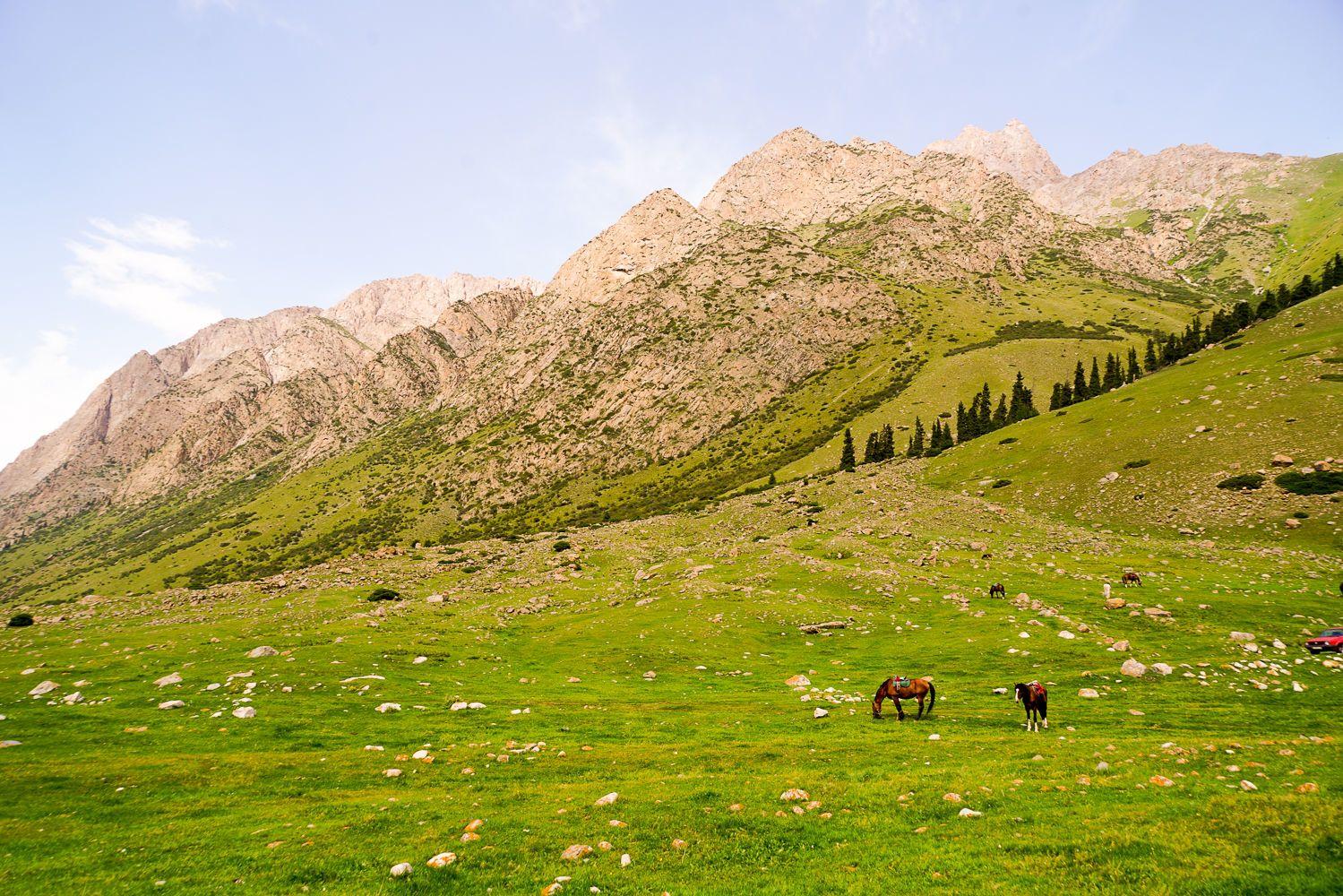 Central Asia, Kyrgyzstan, Tian Shan mountains