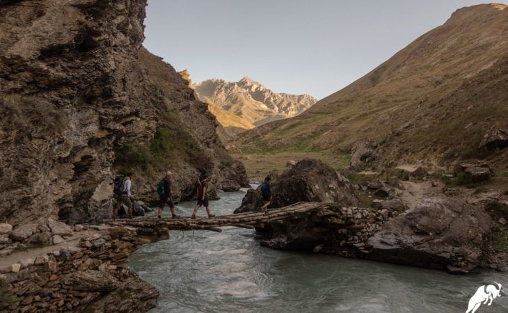 hiking tour Tajikistan, Yagnob valley