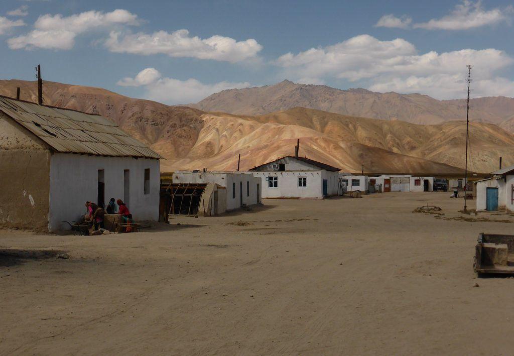 Dorf im Pamir-Gebirge, Tadschikistan