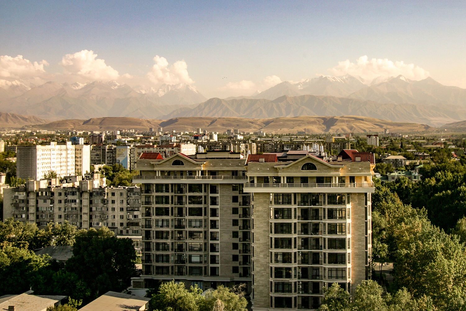 view of Bishkek travel guide