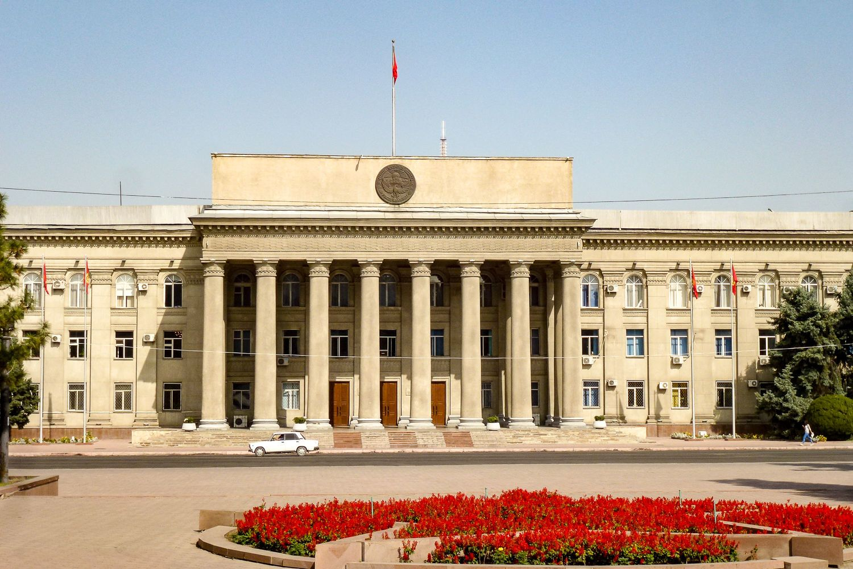 Parliament building in Bishkek Travel Guide