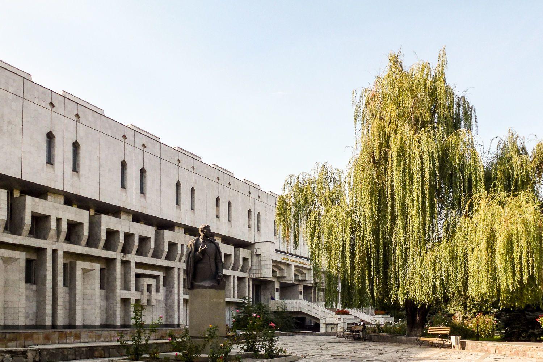 national library Bishkek Travel Guide