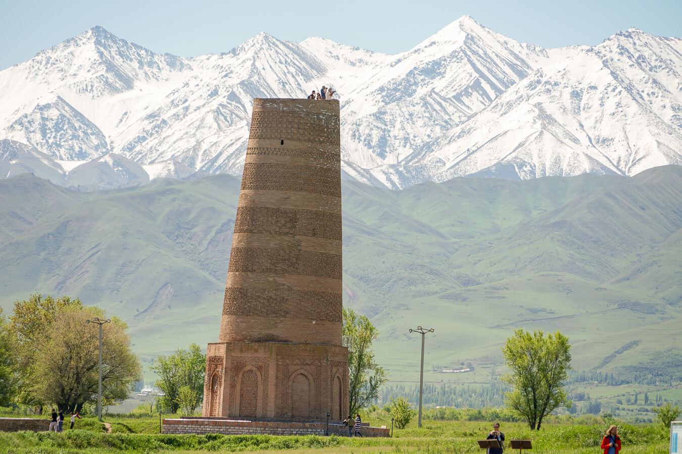 Burana in Kyrgyzstan tour