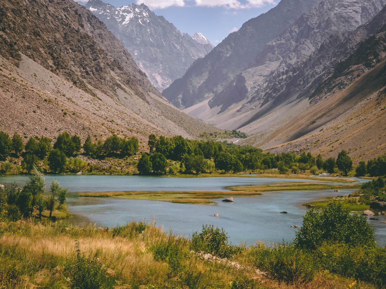 Central Asia nature, landscape