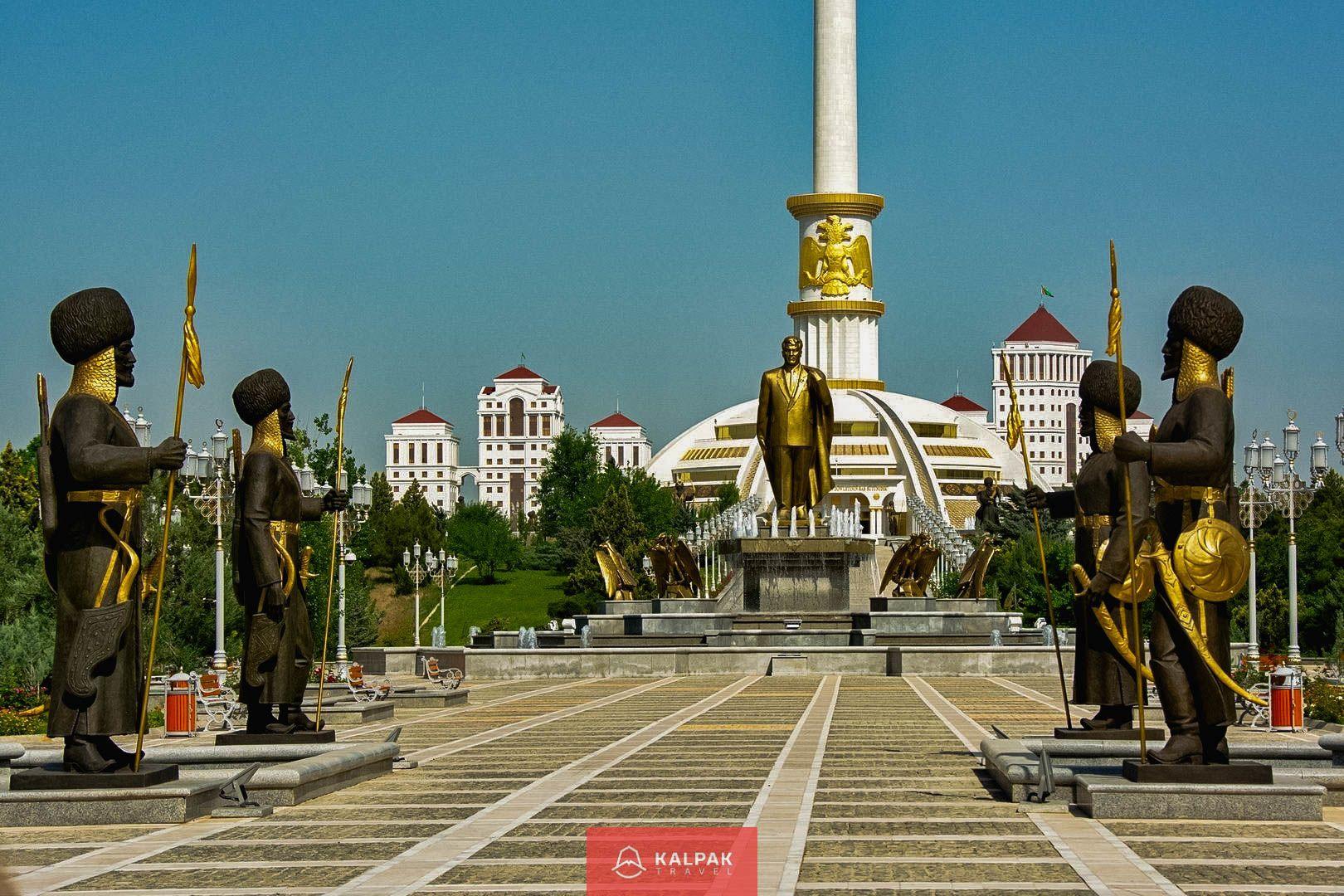 Architektur Asgabat, Turkmenistan, Sehenswürdigkeiten Zentralasien
