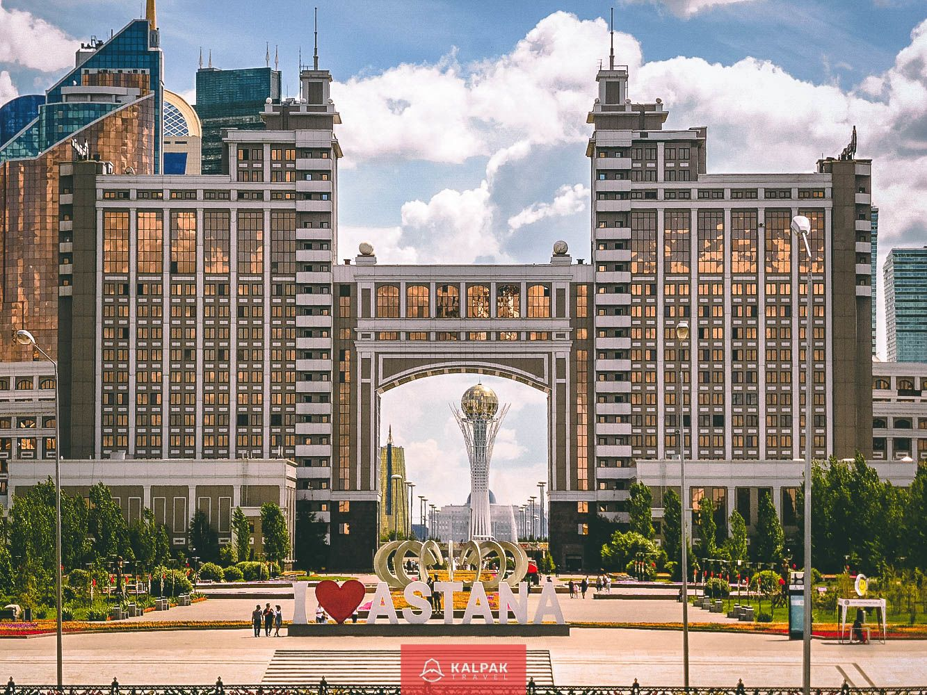 Sehenswürdigkeiten Zentralasien, modernes Astana, Kasachstan
