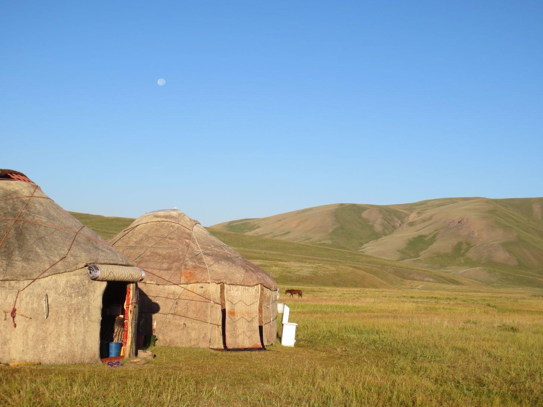 Kilemche pasture in Kyrgyzstan