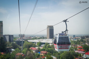 Almaty is one of the highlights of Kazakhstan