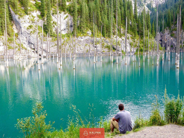 Kazakhstan travel, Kaindy lake