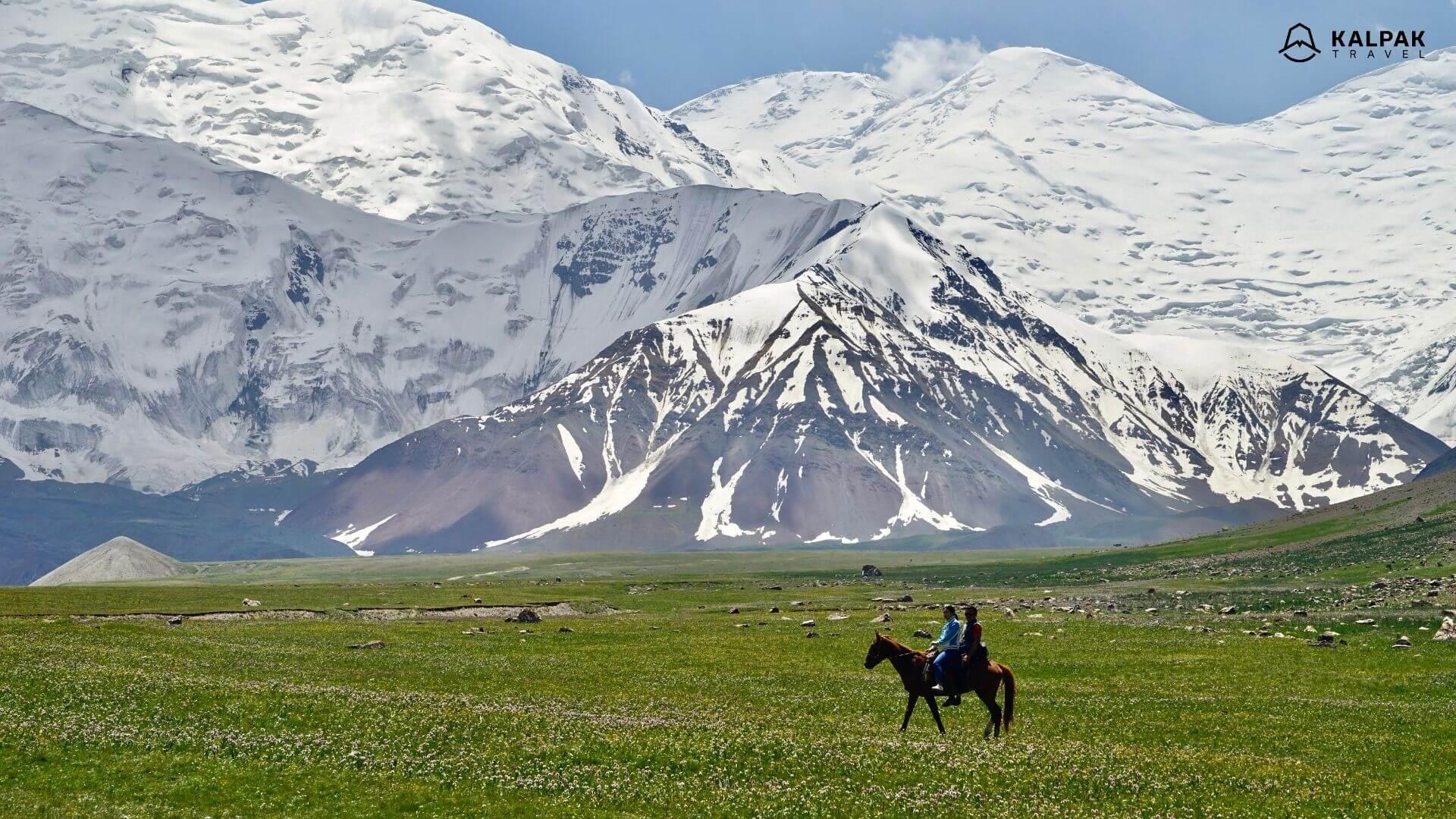 Kyrgyzstan mountains of Peak Lenin