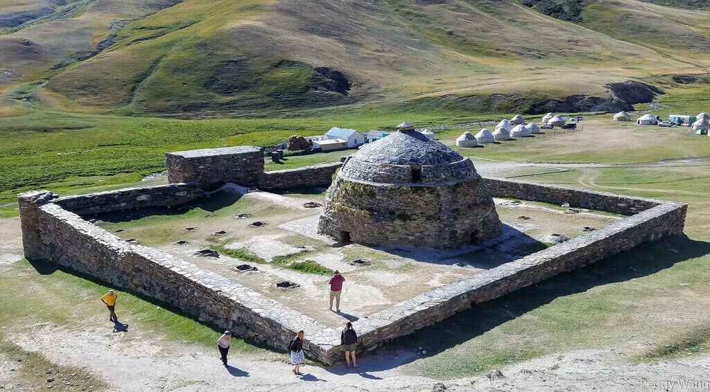 Tash Rabat or ancient inn of Kyrgyzstan