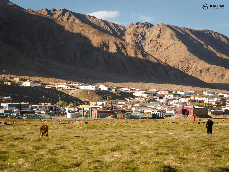 Murghab Kyrgyz minority city in Tajikistan