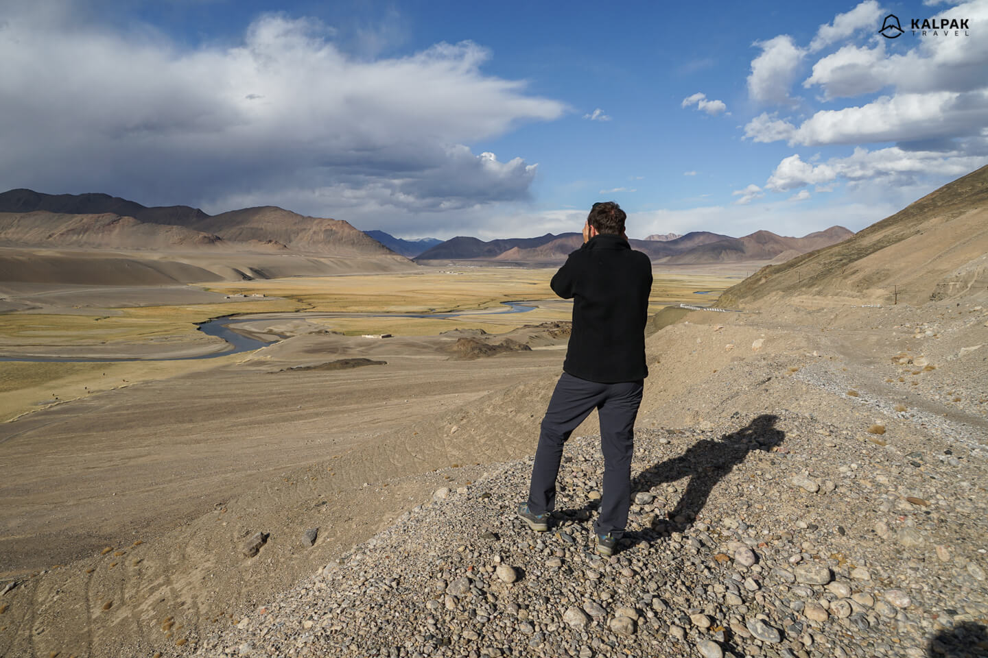 Pamir Highway is highlight from Tajikistan