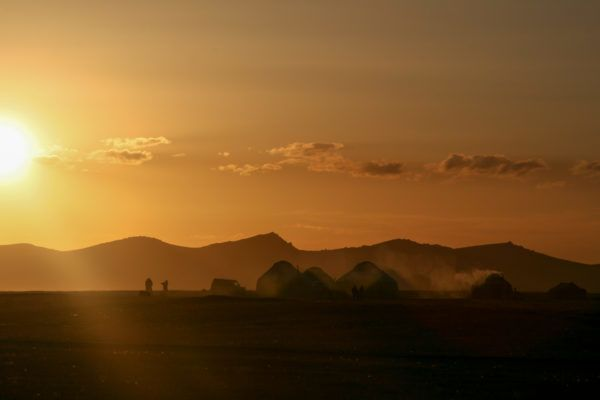 song kol with yurts Top ten places to travel in Kyrgyzstan