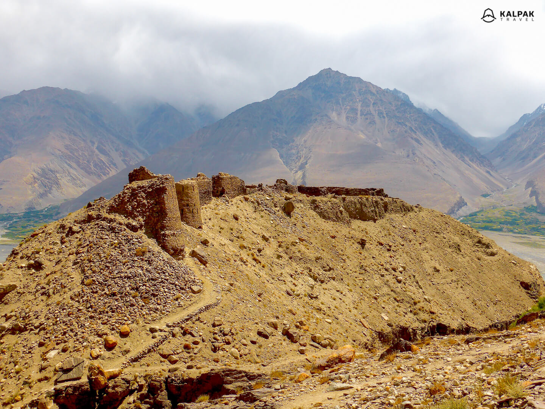 Yamchun fortress in Wakhan, Tajikistan