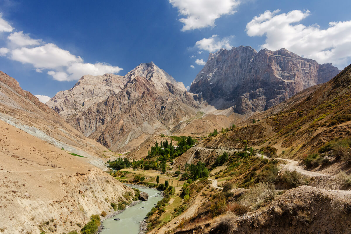 Yaghnob valley in Tajikistan
