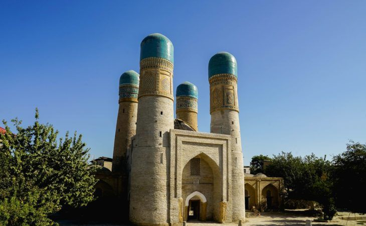 Sights around Bukhara Chor Minor
