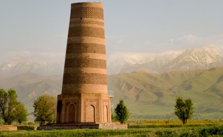 Burana Tower in Kyrgyzstan, Travel Central Asia
