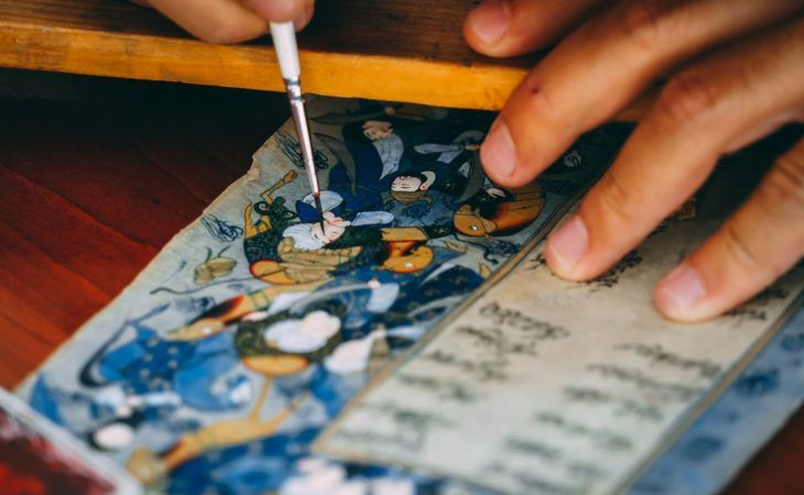 Bukhara miniature art