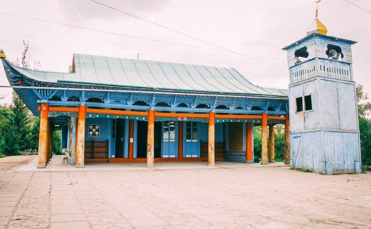 Kyrgyzstan tour, Karakol City, Dungan Mosque