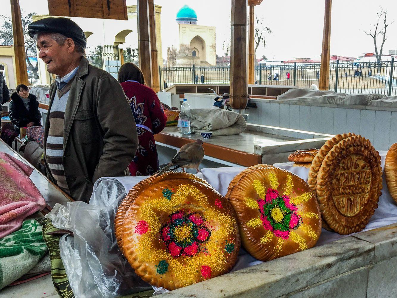 Samarkand bread