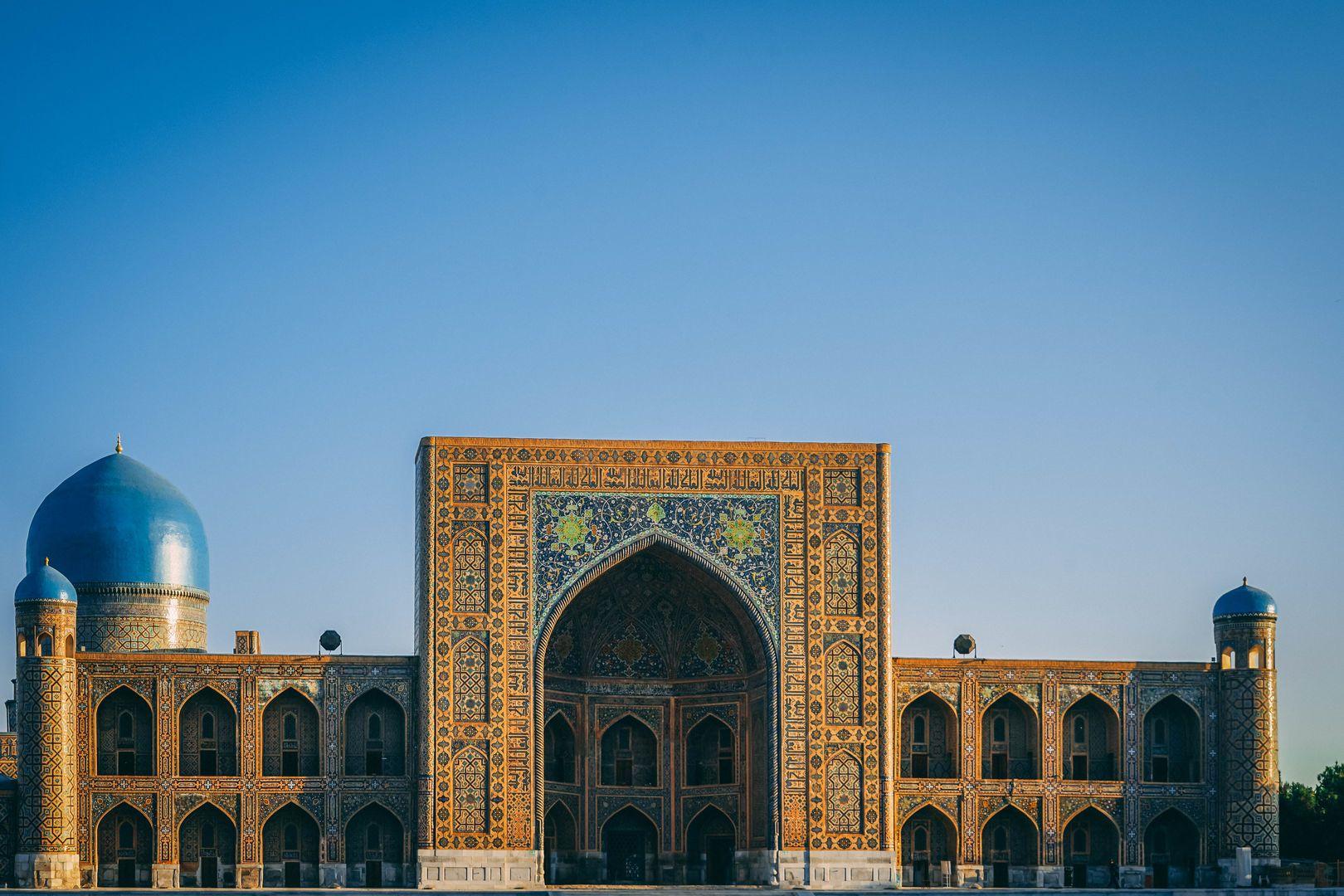 Tillya Kori, Golden Registan building, Samarkand