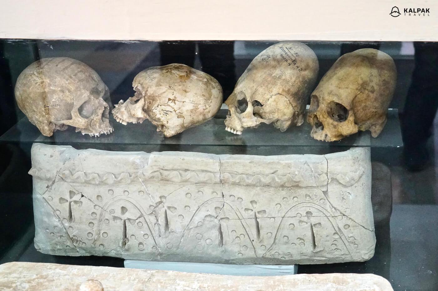 Afrosiyob museum in Samarkand
