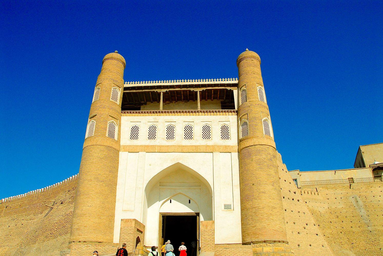 ark bukhara travel uzbekistan