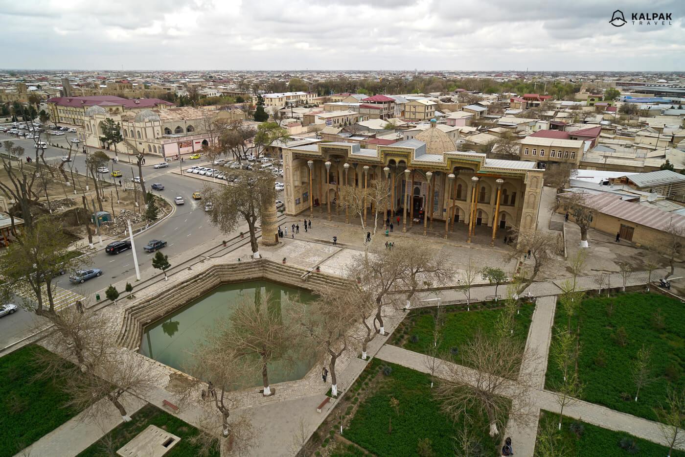 Bolo-Khauz Mosque Bukhara
